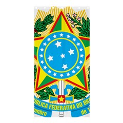 Coat of Arms of Brazil, 1968-1971 Shower Curtain 36  x 72  (Stall)