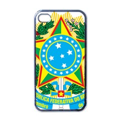 Coat of Arms of Brazil, 1968-1971 Apple iPhone 4 Case (Black)