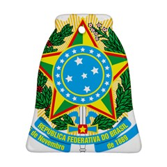 Coat of Arms of Brazil, 1968-1971 Bell Ornament (2 Sides)