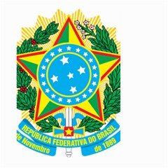 Coat of Arms of Brazil, 1968-1971 Large Garden Flag (Two Sides)