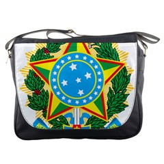 Coat of Arms of Brazil, 1968-1971 Messenger Bags