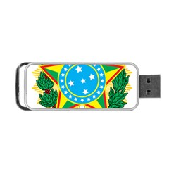 Coat of Arms of Brazil, 1968-1971 Portable USB Flash (One Side)