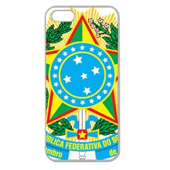 Coat of Arms of Brazil, 1968-1971 Apple Seamless iPhone 5 Case (Clear)