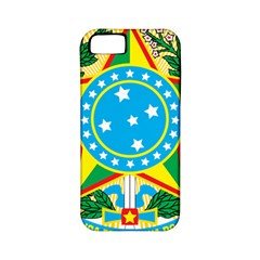 Coat of Arms of Brazil, 1968-1971 Apple iPhone 5 Classic Hardshell Case (PC+Silicone)
