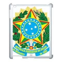 Coat of Arms of Brazil, 1968-1971 Apple iPad 3/4 Case (White)