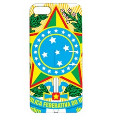 Coat of Arms of Brazil, 1968-1971 Apple iPhone 5 Hardshell Case with Stand