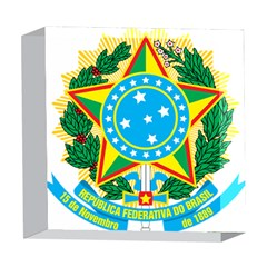 Coat of Arms of Brazil, 1968-1971 5  x 5  Acrylic Photo Blocks