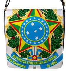 Coat of Arms of Brazil, 1968-1971 Flap Messenger Bag (S)