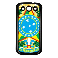 Coat of Arms of Brazil, 1968-1971 Samsung Galaxy S3 Back Case (Black)