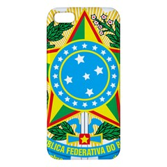 Coat of Arms of Brazil, 1968-1971 iPhone 5S/ SE Premium Hardshell Case