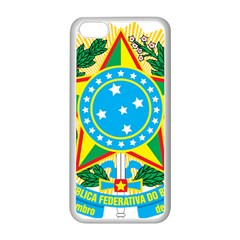 Coat of Arms of Brazil, 1968-1971 Apple iPhone 5C Seamless Case (White)