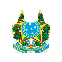 Coat of Arms of Brazil, 1968-1971 Full Print Recycle Bags (S)