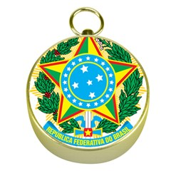 Coat of Arms of Brazil, 1968-1971 Gold Compasses