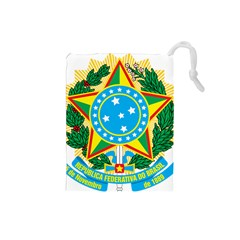 Coat of Arms of Brazil, 1968-1971 Drawstring Pouches (Small)