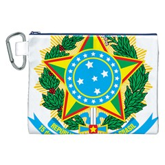 Coat of Arms of Brazil, 1968-1971 Canvas Cosmetic Bag (XXL)