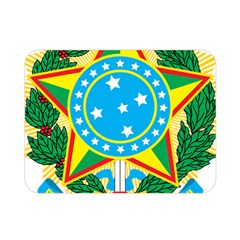 Coat of Arms of Brazil, 1968-1971 Double Sided Flano Blanket (Mini)