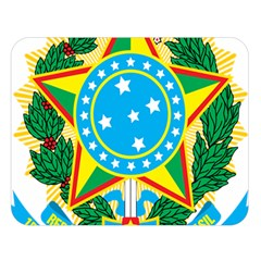 Coat of Arms of Brazil, 1968-1971 Double Sided Flano Blanket (Large)