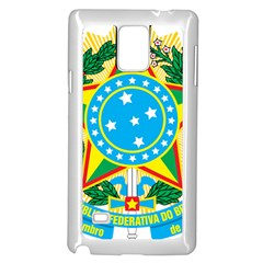 Coat of Arms of Brazil, 1968-1971 Samsung Galaxy Note 4 Case (White)