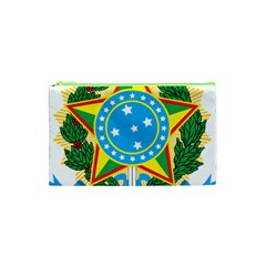 Coat of Arms of Brazil, 1968-1971 Cosmetic Bag (XS)