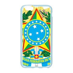 Coat of Arms of Brazil, 1968-1971 Apple Seamless iPhone 6/6S Case (Color)