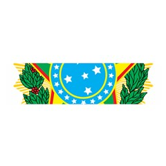 Coat of Arms of Brazil, 1968-1971 Satin Scarf (Oblong)