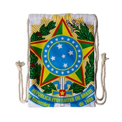 Coat of Arms of Brazil, 1968-1971 Drawstring Bag (Small)