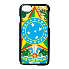 Coat of Arms of Brazil, 1968-1971 Apple iPhone 7 Seamless Case (Black)