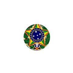 Coat of Arms of Brazil 1  Mini Buttons