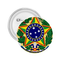 Coat of Arms of Brazil 2.25  Buttons