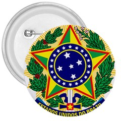 Coat of Arms of Brazil 3  Buttons