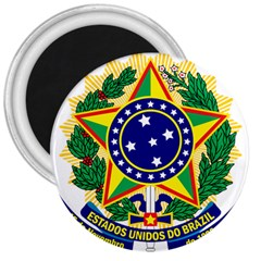 Coat of Arms of Brazil 3  Magnets