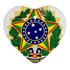 Coat of Arms of Brazil Ornament (Heart)