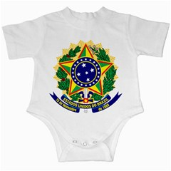 Coat of Arms of Brazil Infant Creepers