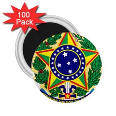 Coat of Arms of Brazil 2.25  Magnets (100 pack)