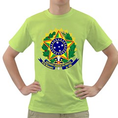 Coat of Arms of Brazil Green T-Shirt