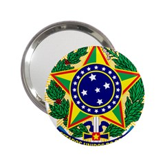 Coat of Arms of Brazil 2.25  Handbag Mirrors