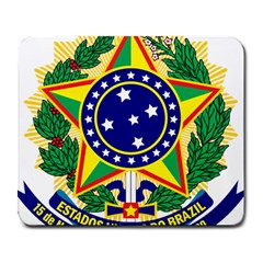 Coat of Arms of Brazil Large Mousepads