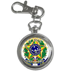 Coat of Arms of Brazil Key Chain Watches