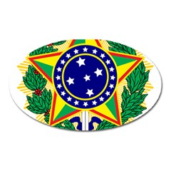 Coat of Arms of Brazil Oval Magnet