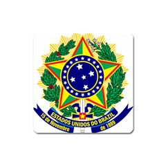 Coat of Arms of Brazil Square Magnet