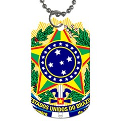 Coat of Arms of Brazil Dog Tag (One Side)
