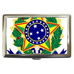 Coat of Arms of Brazil Cigarette Money Cases