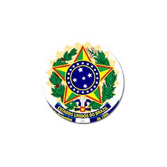 Coat of Arms of Brazil Golf Ball Marker (4 pack)