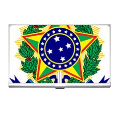 Coat of Arms of Brazil Business Card Holders