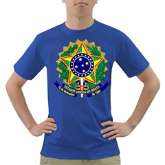 Coat of Arms of Brazil Dark T-Shirt
