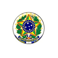 Coat of Arms of Brazil Hat Clip Ball Marker (4 pack)
