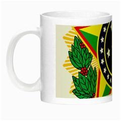 Coat of Arms of Brazil Night Luminous Mugs