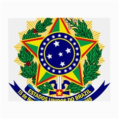 Coat of Arms of Brazil Small Glasses Cloth
