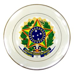 Coat of Arms of Brazil Porcelain Plates