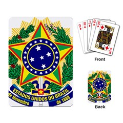 Coat of Arms of Brazil Playing Card